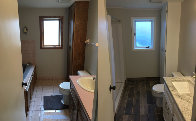 basement bathroom before and after. basement bathroom before and after
