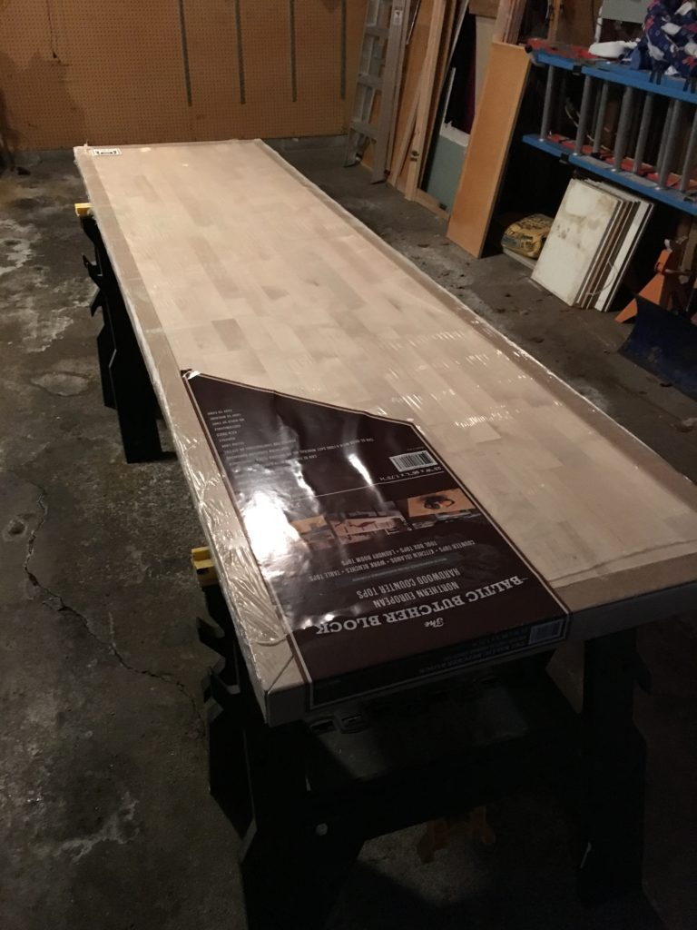 Undermounting A Sink In A Butcher Block Countertop Verlo House To Home
